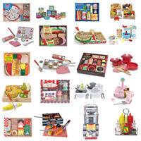 Kids Role Play Toys - Food & Kitchen Children Sets - Melissa & Doug