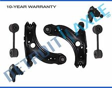 Both (4) Front Lower Control Arm & Ball Joints + 2 Front Sway Bar Links VW Jetta