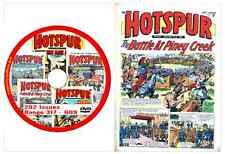Hotspur 292 Issues NOS 317 - 609 on DVD Action Comic Viewing Software (2)