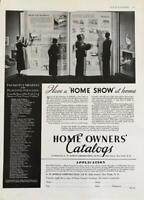 1936 FW Dodge Corp Home Owner's Catalog Print Ad Have a Home Show at Home