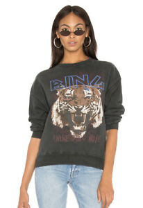 Anine Bing Tiger Sweatshirt Size Small