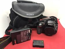 Nikon D5100 16.2MP Digital SLR Camera Body Only. W/ Charger, Battery & Bag.