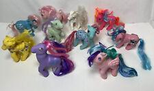 Vintage G1 My Little Pony Lot Of 10 MLP Ponies