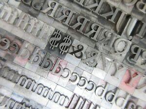 Letterpress Lead Type 36 Pt. Garamond Bold    K13
