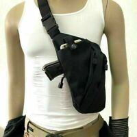 US Invisible Men Chest Sling Crossbody Bag Anti-theft Gun Holster Pouch Bag Pack