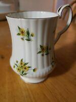 Vintage Royal Windsor Tea Cup Fine Bone China Floral Made in England