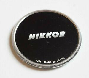 NIKON NIKKOR 72MM METAL FRONT LENS CAP