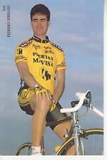 CYCLISME carte cycliste josè PEDRERO SERRANO équipe PUERTAS MAVISA 1992