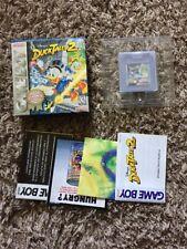 Disney's DuckTales 2 Nintendo Game Boy/Color Video Game COMPLETE in Original Box