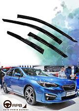 For Subaru Impreza 17-18 Hatchback Deflector Window Visors Guard Weather Shield