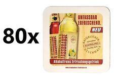 Krombacher Faasbrause Bierdeckel Untersetzer Unterlage Pappdeckel Bierfilz - 80