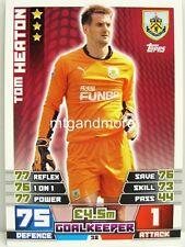 Match coronó 2014/15 Premier League - #038 Tom heaton-burnley