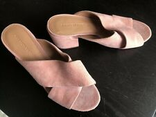 781b2c5a6 SIGERSON MORRISON Womens 'Rhoda' Pink Suede Slides Sandals ...