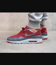 reputable site 905bf 4e93a Nike Air Max 1 Ultra Moire Size 10.5 Cedar dark Grey wolf Grey 705297-602  for sale online   eBay