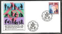 U.N Vienna SC # 161 International Year Of The family FDC . UNPA