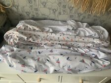 Breathable Cot Bed Fitted Sheets 70 X 140cm