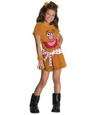 Animal Girl The Muppets FOZZIE BEAR Cute  Halloween TODDLERS Costume 2-4 NEW