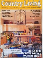 COUNTRY LIVING MAGAZINE~VINTAGE~FEB 1994~COOKING WITH THE EDITORS~