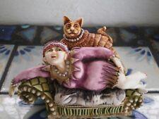 Harmony Kingdom Clair de Lune Kiki cat figurine couch kitten Numberd