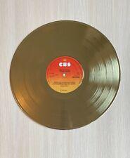 Judas Priest British Steel 1980 Gold Vinyl Record
