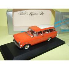 OPEL REKORD P1 CARAVAN 1958-1960 Orange Red MINICHAMPS 1:43 défaut