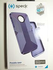 Speck Presidio Grip Case Cover for Motorola Moto Z2 Force Marine Blue