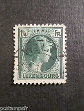 LUXEMBOURG, 1930-31, timbre CLASSIQUE 224, G D CHARLOTTE oblitéré, VF used stamp