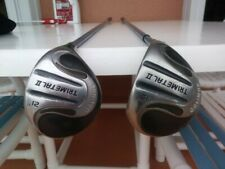 Pair (2) of Orlimar Trimetal Ii Woods 15* and 21* Rh R flex Ct-801 w/Headcovers