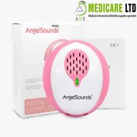 Angel Sounds Baby Fetal Doppler Heart Sound Detector Monitor Free App