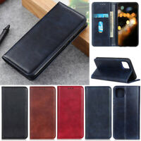Slim Litchi Folio Wallet Leather Flip Stand Case Cover For Google Pixel 5 XL 4A