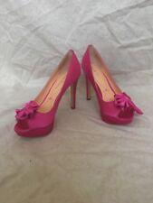 Pour La Victoire Stella Fuschia Satin, Women's Shoes, Size 7.5M