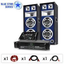 Top Party Event 1200w Sound Musik DJ PA BESCHALLUNG Boxen Verstärker Mischpult