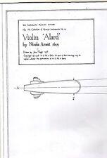 Violin 'Alard' by Nicola Amati 1649