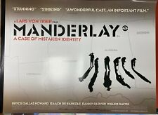 Manderlay (2005) starring Willem Dafoe Directed by Lars Von Trier UK Quad Poster