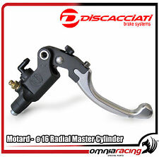 Discacciati Front Racing Radial Brake Pump - Master Cylinder Motard 14mm FDR0063