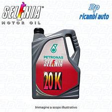 LATTA 5 LT OLIO MOTORE PETRONAS SELENIA 20K 10W40 FIAT ALFA ROMEO SUPER PREZZO