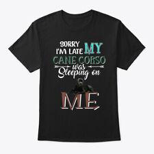 Cane Corso Dog Sleeping On Me Hanes Tagless Tee T-Shirt