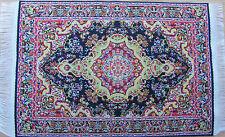 Escala 1:12 25cm X 17.5cm alfombra turca de tejido muñeca casa miniatura Alfombra P25L