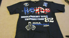 Dan Henderson Hendo UFC 82 Columbus Training BlueT-shirt New Small S