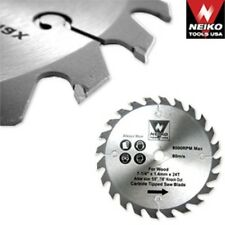"""10"""" INCH NEIKO FINE CARBIDE TIP TIPPED CIRCULAR TABLE MITER SAW BLADE 80 TOOTH"""