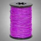 """Flo Purple BCY Halo .014"""" Braided Spectra Serving Material Spool Bow String"""