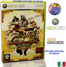 BATTLE FANTASIA GIOCO NUOVO PER MICROSOFT XBOX360 IN EDIZIONE ITALIANA PAL ITALY