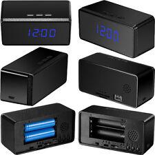 Espion caché horloge caméra vidéo surveillance 24 heures batterie/réseau vision nocturne