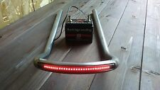 """CAFE RACER SEAT HOOP LOOP FRAME 9"""" LED TAIL LIGHT INCORPORATED CB750 xs750 850"""