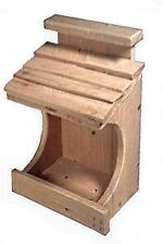 Ark Workshop Cedar Robin House Nesting Ledge Shelf Platform also for Doves Finch