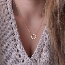 Fashion Women's Charm Jewelry Chain Choker Chunky Statement Bib Pendant Necklace