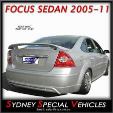 REAR WING BOOT SPOILER FOR FORD FOCUS SEDAN 2005 to 2011 NEW ABS