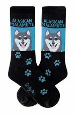 Alaskan Malamute Crew Socks Unisex