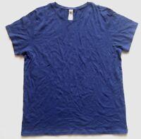 B & C Damen T-Shirt Gr. XL Blaulila