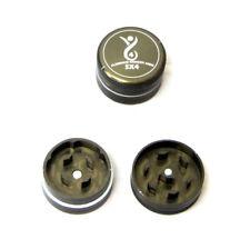 SX4 Mini Small Herb Grinder 30mm 2 Part Aluminium Gunmetal